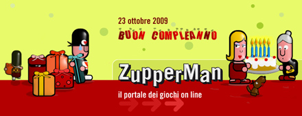 Buon quinto compleanno Zupperman!