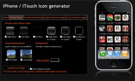 iPhone icon generator